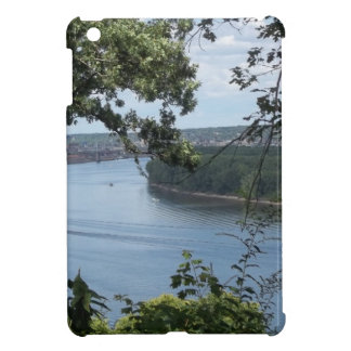 Dubuque Iowa from the Mississippi River Cover For The iPad Mini