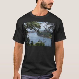 Dubuque Iowa from the Mississippi River T-Shirt
