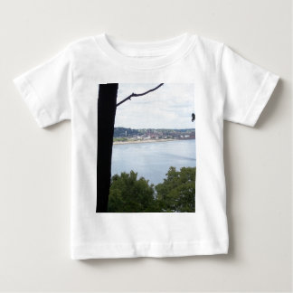 Dubuque Iowa on the Mississippi River Baby T-Shirt