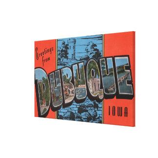 Dubuque, IowaLarge Letter ScenesDubuque, IA Canvas Print