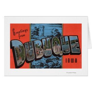 Dubuque, IowaLarge Letter ScenesDubuque, IA Card