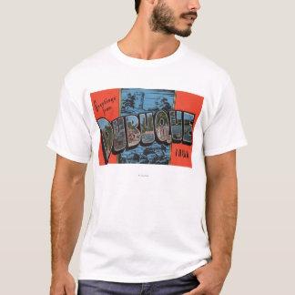 Dubuque, IowaLarge Letter ScenesDubuque, IA T-Shirt