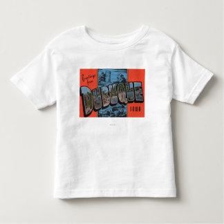 Dubuque, IowaLarge Letter ScenesDubuque, IA Toddler T-shirt