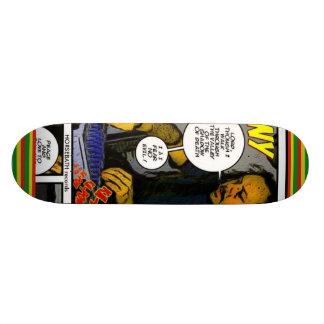DubWise johnny fife  skateboard, HORSEBATH records Skateboard