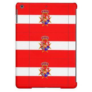 Ducado magnífico de la bandera blanca roja de funda para iPad air