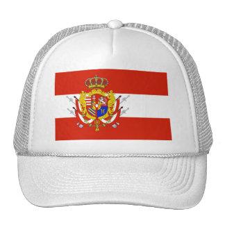 Ducado magnífico de la bandera blanca roja de gorro