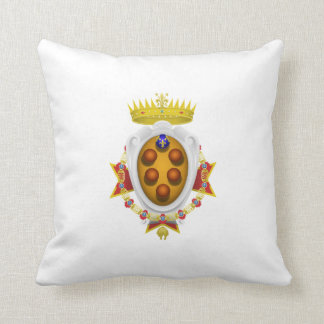 Ducado magnífico de la bandera de Toscana Cojín