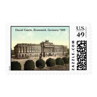 Ducal Castle, Brunswick, Germany 1905 Postage