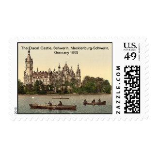 Ducal Castle,Schwerin,Mecklenburg-Schwerin,Germany Stamps