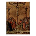 Duccio di Buoninsegna Art Greeting Card