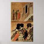 Duccio di Buoninsegna - Christ and Mary Magdalene Posters