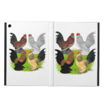 D'Uccles Four Roosters iPad Air Case