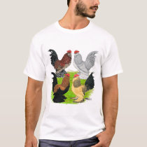 D'Uccles Four Roosters T-Shirt