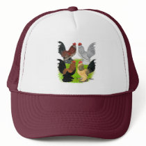 D'Uccles Four Roosters Trucker Hat