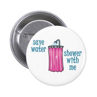 Ducha conmigo - agua de la reserva pin
