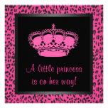 Ducha de la niña del leopardo de las rosas fuertes comunicado personal