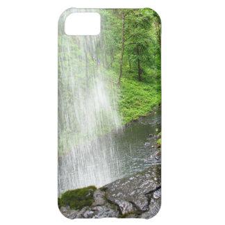 Ducha de las naturalezas funda para iPhone 5C