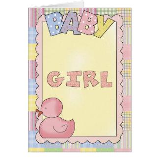 Ducha de las tarjetas del bebé, Congrats, nueva ni