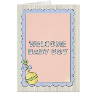 Ducha de las tarjetas del bebé, Congrats, nuevo be