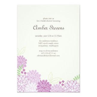 Ducha de los flores de la primavera/invitación del