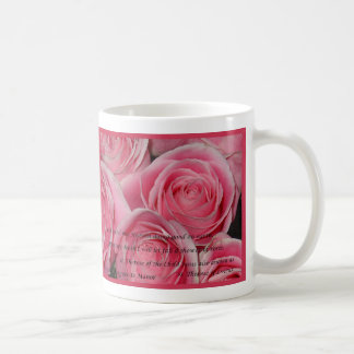 Ducha de los rosas, St.Therese, taza