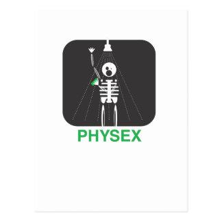 Ducha de Physex Tarjeta Postal