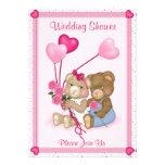 Ducha del boda del oso de peluche - personalizar