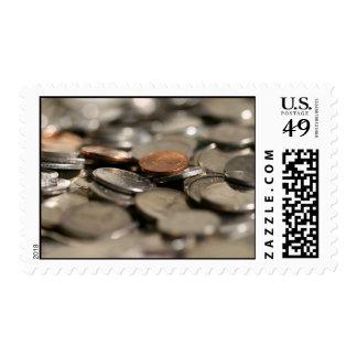 Ducha del dinero sello
