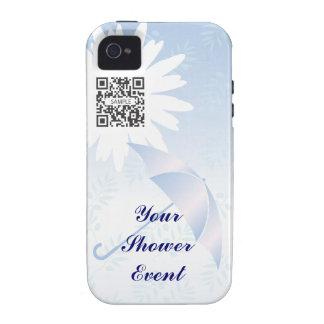 ducha nupcial de la plantilla del caso del iPhone Case-Mate iPhone 4 Carcasas
