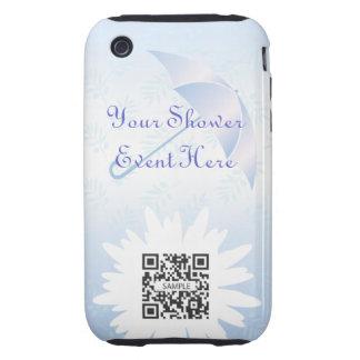 ducha nupcial de la plantilla del caso del iPhone Tough iPhone 3 Protector