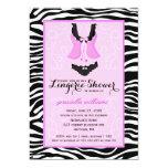 Ducha púrpura de lujo Bachelorette de la ropa Invitaciones Personalizada