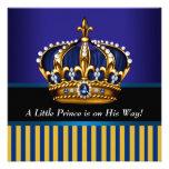 Ducha real del príncipe bebé del oro del negro de  comunicado personal