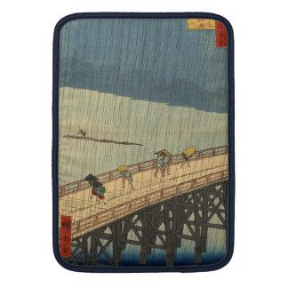 Ducha súbita sobre el puente de Shin-Ōhashi, Hiros Funda MacBook