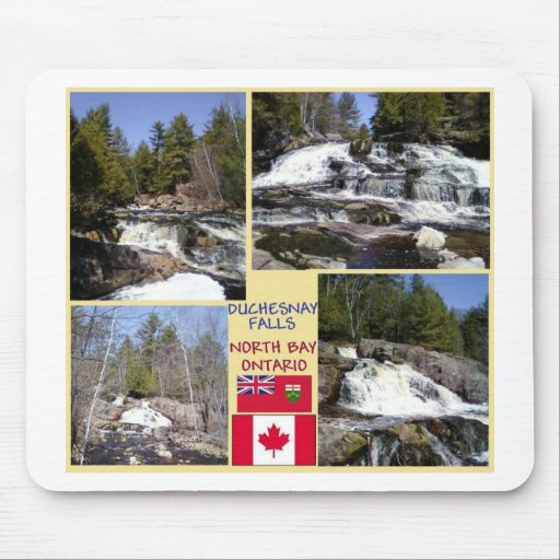 Duchesnay baja la bahía del norte, Ontario Alfombrillas De Ratones
