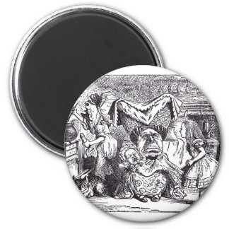 Duchess and Cook 2 Inch Round Magnet
