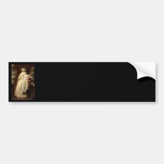 Duchess Helene Mecklembourg Strelitz Car Bumper Sticker