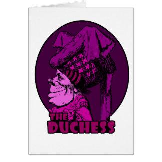Duchess Logo Pink Card
