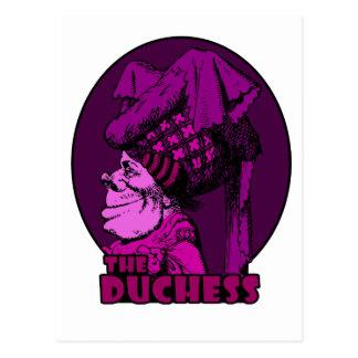 Duchess Logo Pink Postcard