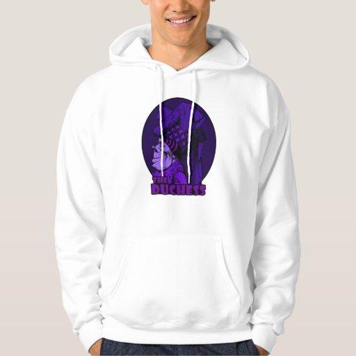 Duchess Logo Purple Hoodie