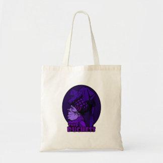 Duchess Logo Purple Tote Bag