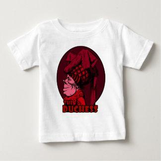 Duchess Logo Red Baby T-Shirt