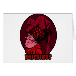 Duchess Logo Red Card