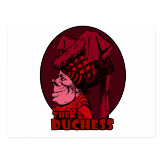 Duchess Logo Red Postcard