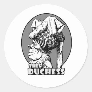 Duchess Logo Classic Round Sticker