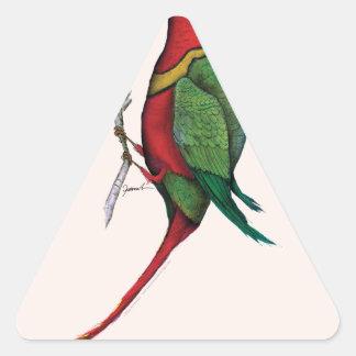duchess lorikeet, tony fernandes triangle sticker