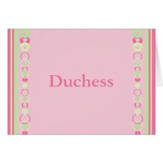 Duchess Modern Circles Name Card
