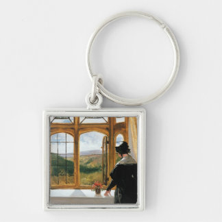 Duchess of Abercorn looking out of a window Keychain