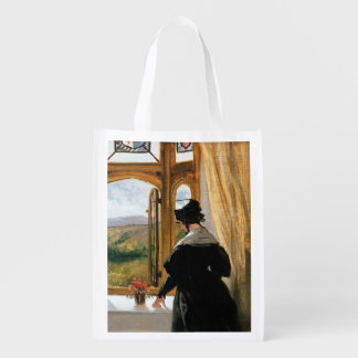 Duchess of Abercorn looking out of a window Reusable Grocery Bag