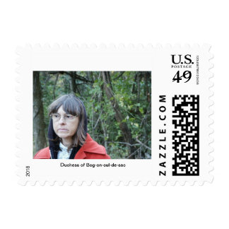 Duchess of Bog-on-cul-de-sac Postage