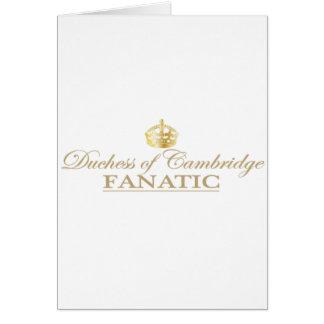 Duchess of Cambridge Fanatic Card